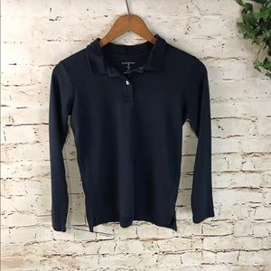 🌞 Land's End Long Sleeve Polo Shirt